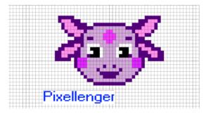 Luntik Pixel Art