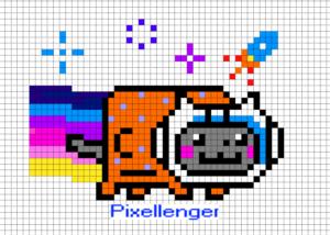 Nyan Cat Astronaut