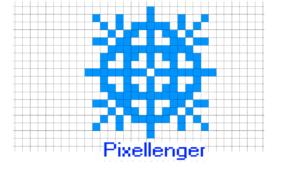 Snowflake Pixel Art