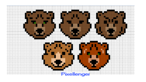 Bear Head 5 variants